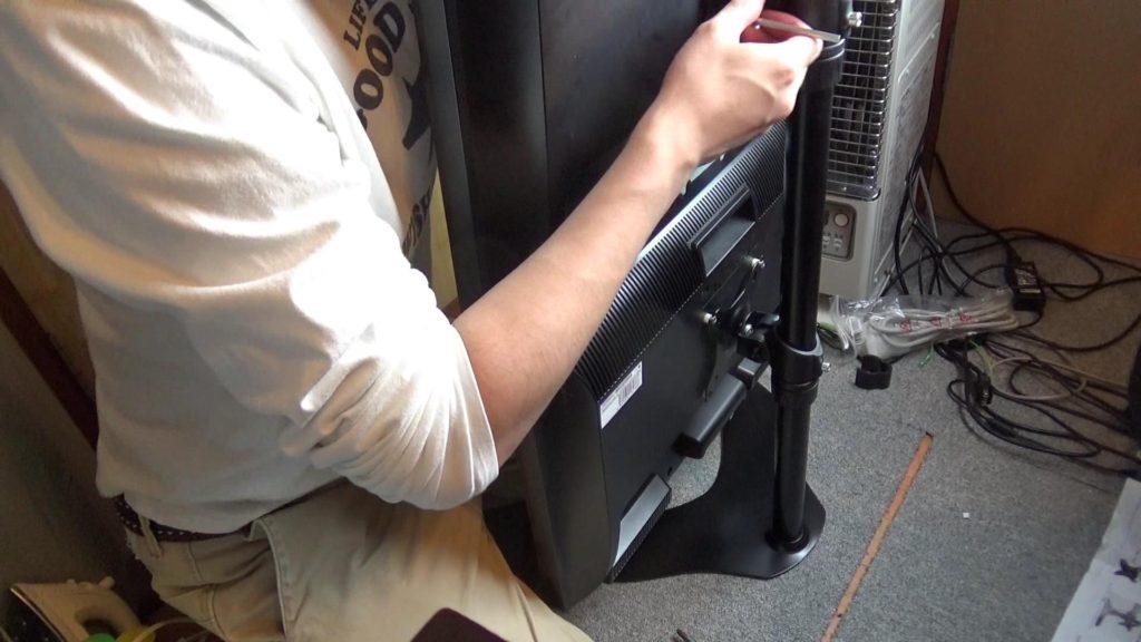 モニター設置